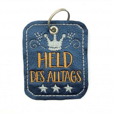 Schlüsselanhänger Held Blau