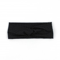 Haarband Dots black