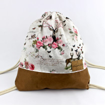 Deer Flower Bag